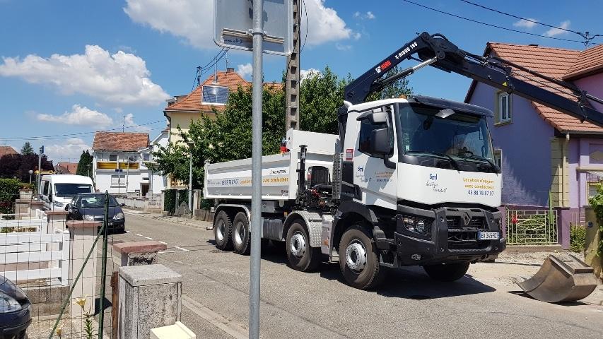 SML Location - Location de camions bi-bennes avec chauffeur